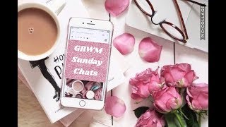 Sunday chit chat | Wake up to Makeup | Hot Mess Momma MD