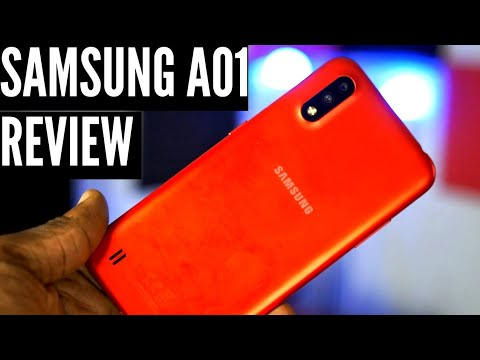 Samsung A01 Review The Small But Mighty Smartphone For 92 Youtube