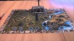 Brettspiel King Arthur / König Arthur - Ravensburger - Überblick - Elektronisches Fantasyspiel