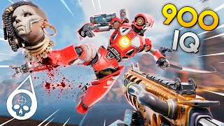 The 900 IQ ULTRA SMART PATHFINDER!! Best Apex Legends Funny Moments and Gameplay - Ep.183