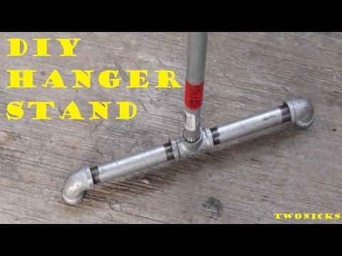 DIY Hanger Stand