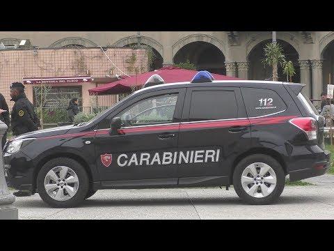 Carabinieri Italia Toscana - Italien - Carabinieri police Italy Tuscany - Subaru - FIAT - Alfa Romeo