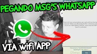 INVESTIGATIVO WHATSAPP SNIFFER! Interceptando mensagens do Whatsapp no Wifi,