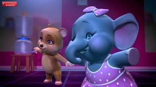 Animal Dance Cartoon Video for Kids | Funny Dance | Infobells