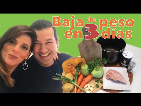 Sopa para bajar de peso en 3 Dias! -Por Barbara Bermudo / Loose weight with Soup