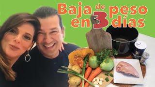 Sopa para bajar de peso en 3 Dias! -Por Barbara Bermudo / Loose weight with Soup