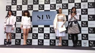 【Shibuya fashion week】3世代ファッションショー 青木恭子 検索動画 19