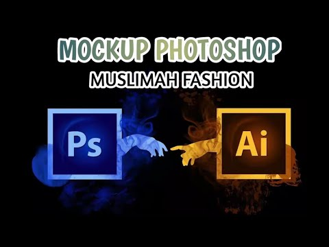 MOCKUP MUSLIMAH T-SHIRT | PHOTOSHOP | ILLUSTRATOR | HARI SUKAN NEGARA 2019