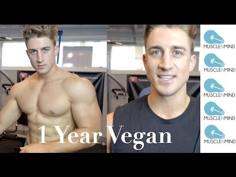 1 Year of Vegan Bodybuilding - My Vegan Transition