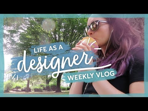 Feeling down & coding a carousel | Life of a designer weekly vlog