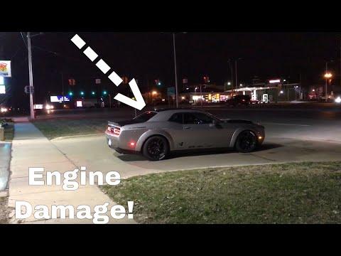 Dodge Demon Rod Knock! BLOWN MOTOR!?!