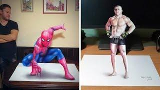 Gerçeklik Konusunda Seviye Atlamış 50 3D Çizim