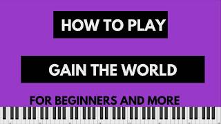 How to Play Gain the World by James Hall