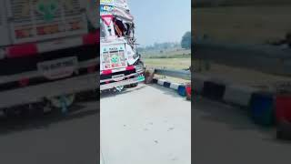 Agra express way road accident