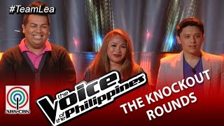 Team Lea Knockout Rounds Decision: Timmy, Charlie, and Leah (Season 2)