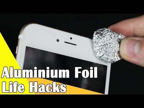 6 Life hacks for Aluminium Foil