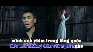 [ Lyric + Karaoke ] Trong Giấc Mơ Đêm Qua - Lê Việt Anh ft Ái Phương