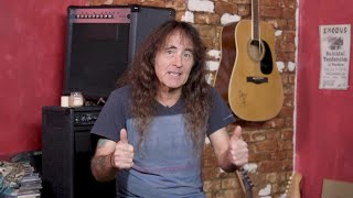 Steve Harris: British Lion Help Me Write Shorter Songs