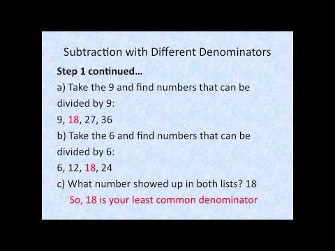 Fractions in Pharmacy Tech Math