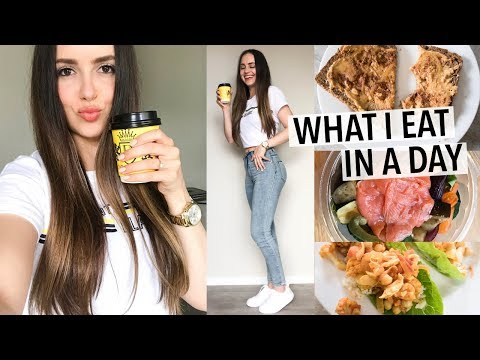 WHAT I EAT IN A DAY 2018   healthy + how I stay in shape