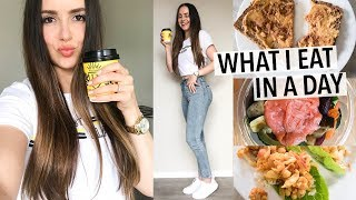 WHAT I EAT IN A DAY 2018 | healthy + how I stay in shape