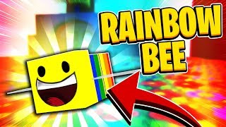 RAINBOW BEE In Roblox Bee Swarm Simulator