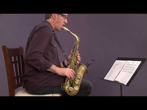 """jazz-saxophone-with-eric-marienthal:-soloing-over-""""blue-bossa"""""""