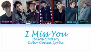 [HANROM|ENG] BTOB - I Miss You (???) Lyrics MP3