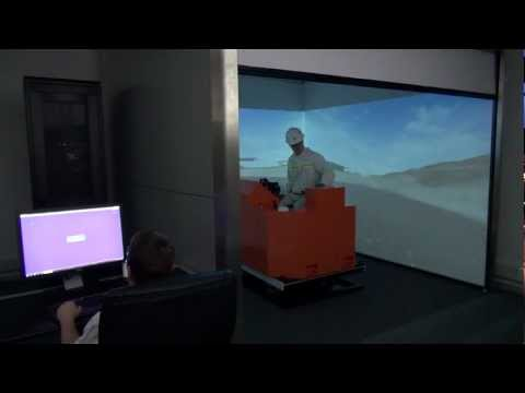Sandvik DD210L Drill Rig - Training Simulator (5DT - Fifth Dimension Technologies)