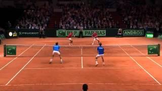 Final Copa Davis 2014: resumen del partido Federer/Wawrinka v Benneteau/Gasquet