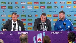 Steve Hansen and Kieran Read give post match press conference - New Zealand v Ireland