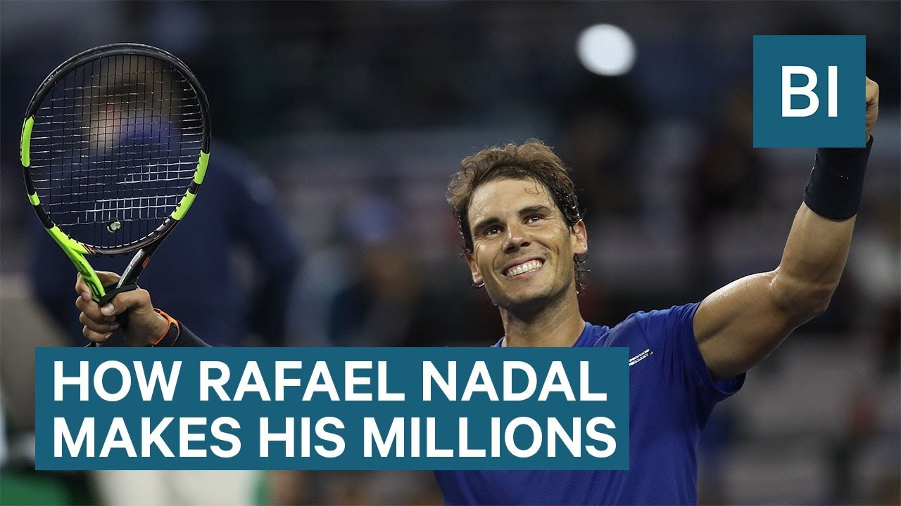 How Rafael Nadal Makes And Spends His Millions Youtube