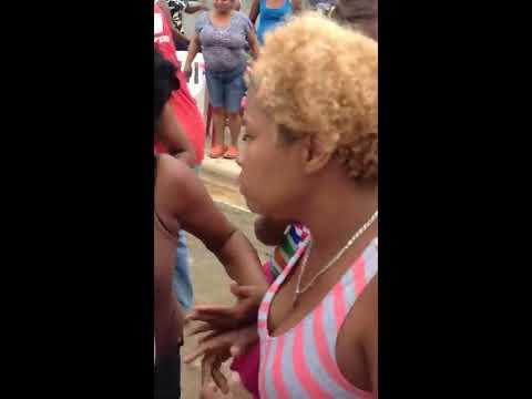 Pleito de Mujeres en La Reforma, Villa Riva Provincia Duarte
