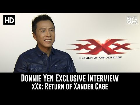Donnie Yen Exclusive Interview - xXx: Return of Xander Cage