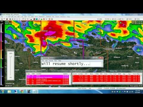 Live Nebraska and Iowa Storm Coverage And Radar Analysis