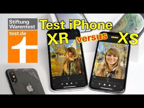 Test Apple iPhone XR: Besser als das iPhone XS? - Vergleichstest iPhone XR vs. XS Stiftung Warentest