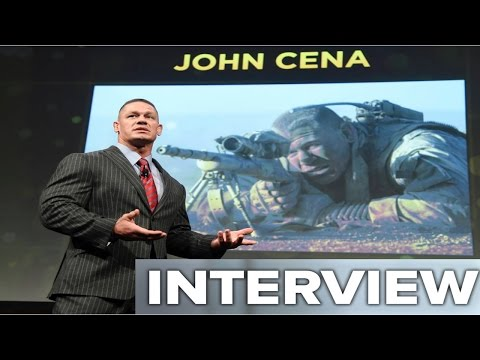 John Cena (THE WALL & FERDINAND) Interview | CinemaCon 2017