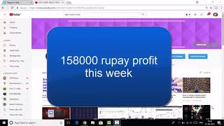 Lagatar third week profit of 1.58 lakh in stock market, join and earn