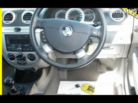 2008 Holden Viva JF MY09 Silver 5 Speed Manual Hatchback  YouTube