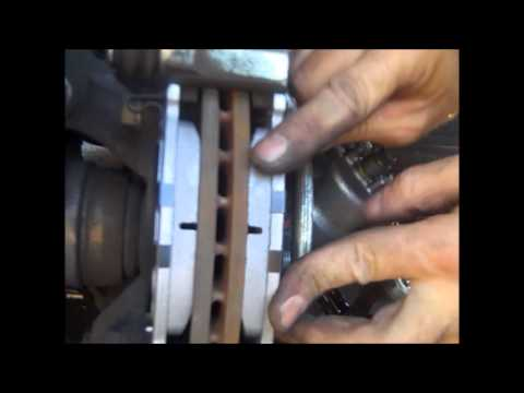 Front Disc Brake Pad Change For The 2007 Hyundai Accent By