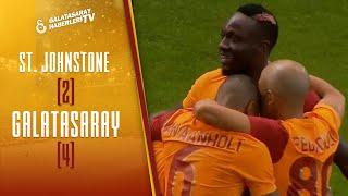St. Johnstone 2 - 4 Galatasaray MAÇ ÖZETİ VE GOLLERİ (UEFA Avrupa Ligi. 3. Eleme Turu Maçı)