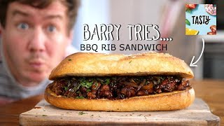 In this episode of Barry tries, it's time for a truly epic sandwich indeed that should serve 3-4 people, however Mrs Barry and I totally demolished it post filming!