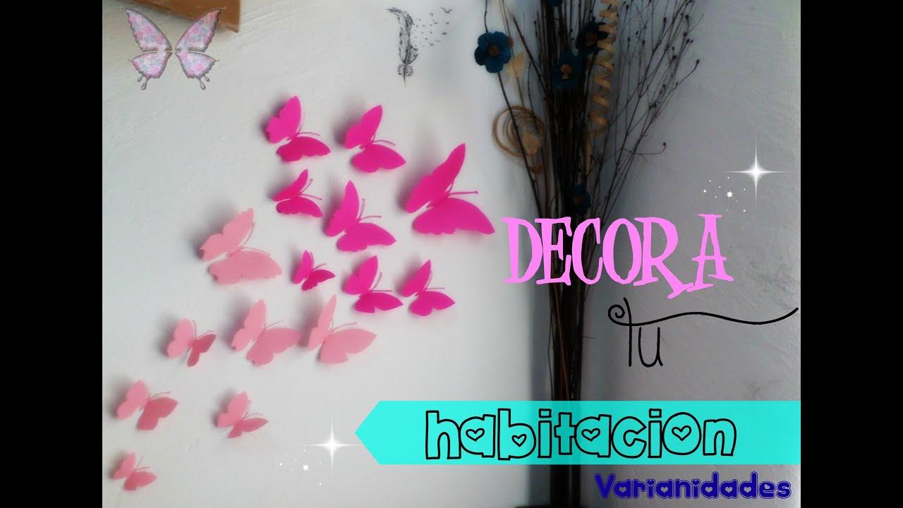 Mariposas de papel decora tu espacio varianidades d - Como hacer mariposas de papel ...