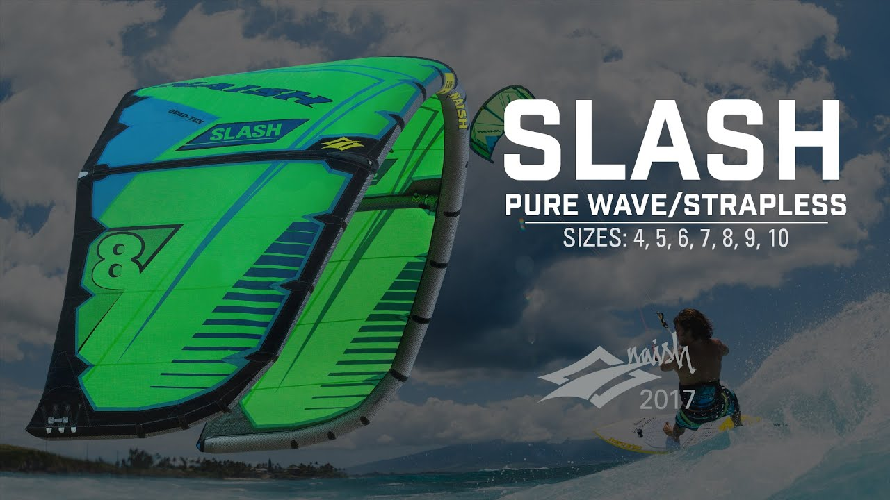 2017 Naish Slash | Pure Wave Strapless Kite