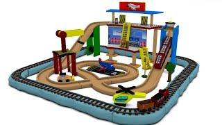 MR BOO BOO and Friends : Choo Choo Toy Factory Cartoon Trains for Kids