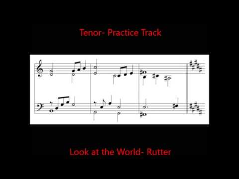 Look at the World  3 Tenor