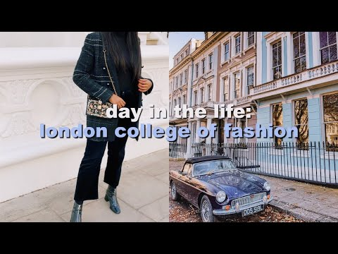 DAY IN THE LIFE OF A UNIVERSITY STUDENT | London College of Fashion