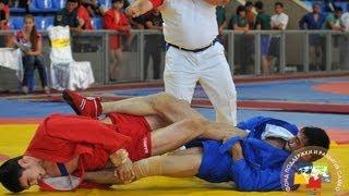 Чемпионат Азии по самбо. День 2