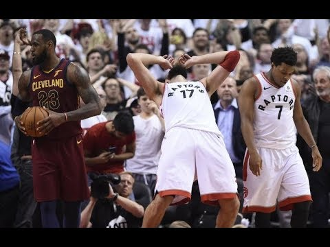 Clutch/Choke Moments Cavaliers Vs Raptors ECSF Game 1 | May 1, 2018