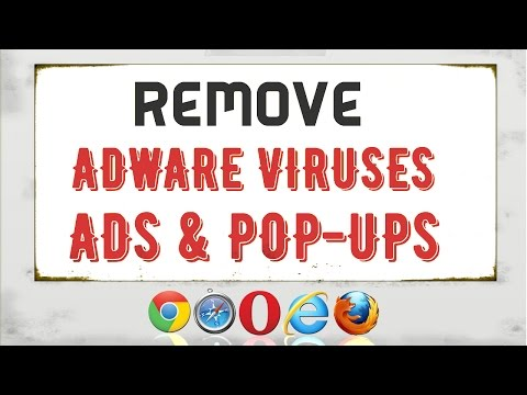 How to Remove Adware Viruses /Ads & pop-ups From Any Browser | Remove pop up ads